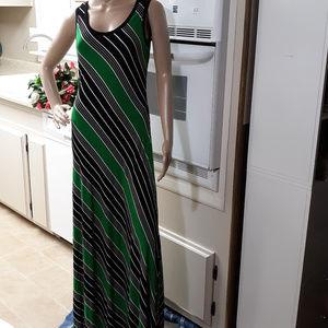 Calvin Klein Bold Colored Maxi Dress